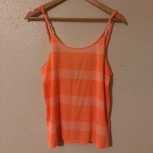 Set of 2 Hurley Stripe Tanks with low back